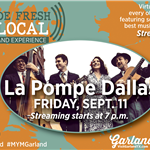 Virtual Concert Made Fresh and Local with La Pompe Dallas on Sept. 11
