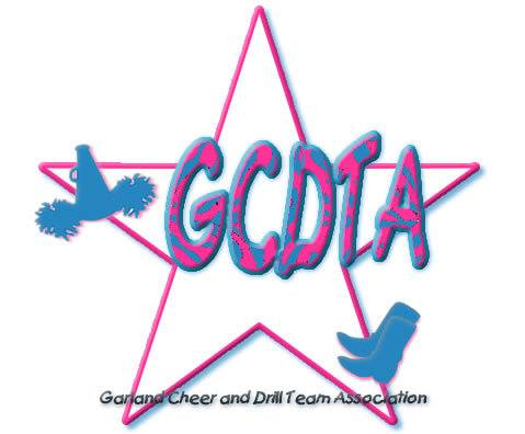 Garland Cheer and Drill Team Association logo