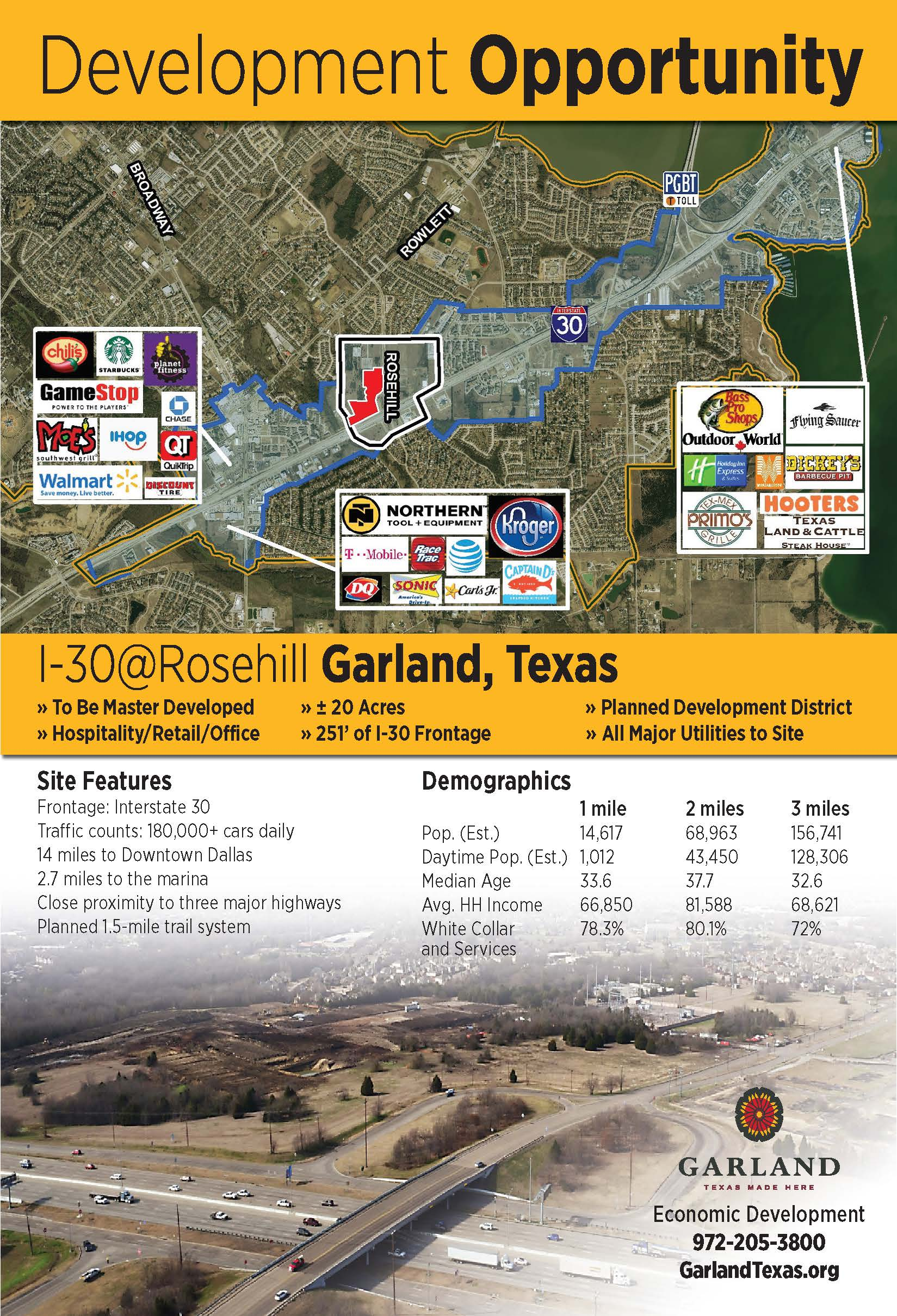 I-30 at Rosehill flier Opens in new window